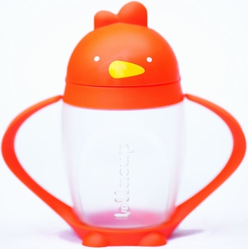 Lollacup Infant & Toddler Straw Cup - Orange