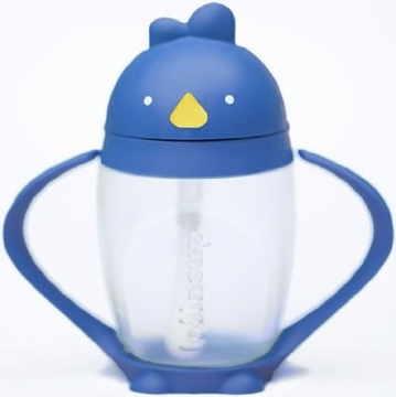 Lollacup Infant & Toddler Straw Cup - Blue