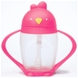 Lollacup Infant & Toddler Straw Cup - Pink