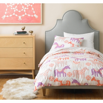 DwellStudio Unicorn Peony Full Duvet Set