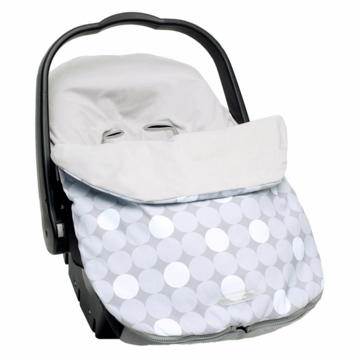 JJ Cole Bundleme Lite Infant - Gray Circle -D
