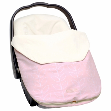 JJ Cole Bundleme Lite Infant - Pink Leaf
