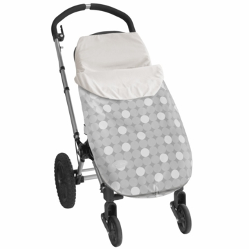 JJ Cole Bundleme Lite Toddler - Gray Circle