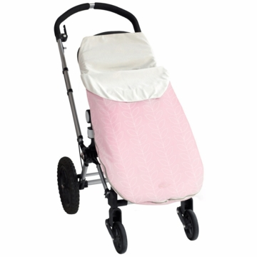 JJ Cole Bundleme Lite Toddler - Pink Leaf