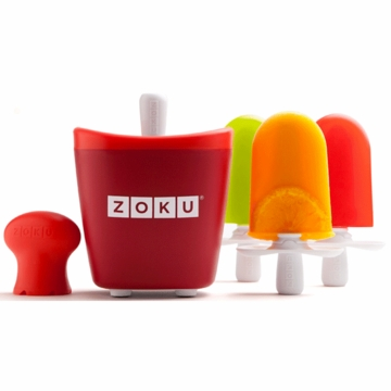 Zoku Red Single Quick Pop Maker