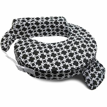 My Brest Friend Wearable Nursing Pillow in Black Marina
