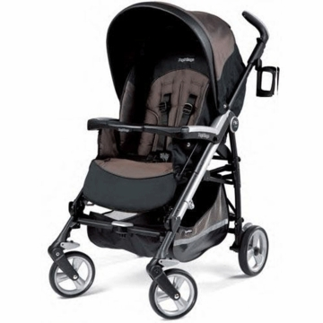 Peg Perego Pliko Four Stroller in Newmoon