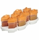 Baby Brezza Octo 8PC Storage System - Orange