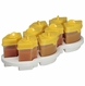 Baby Brezza Octo 8PC Storage System - Yellow