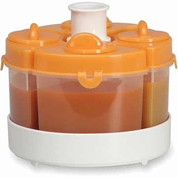 Baby Brezza Quattro 4PC Storage System - Orange