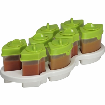 Baby Brezza Octo 8PC Storage System - Green