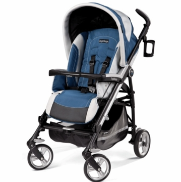 Peg Perego Pliko Four Stroller in Regata