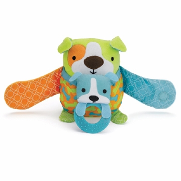 Skip Hop Hug & Hide Stroller Toy - Dog - D