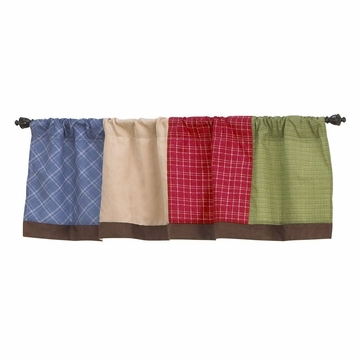 CoCaLo A to Z Boy Window Valance