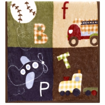 CoCaLo A to Z Boy Soft & Cozy Blanket