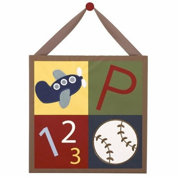 "CoCaLo A to Z Boy Canvas Art - 12"" x 12"""