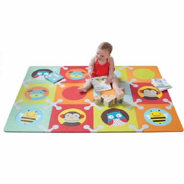 Skip Hop Playspot Foam Floor Tile - Zoo-Multi