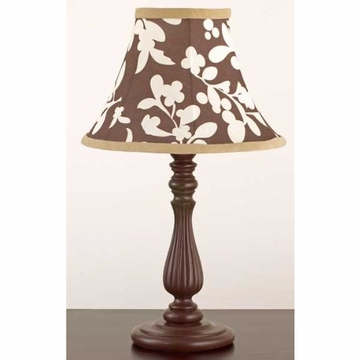 CoCaLo Pewter Lamp Base & Shade