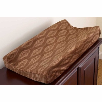 CoCaLo Pewter Changing Pad Cover