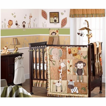 CoCaLo Nali Jungle 8-Piece Crib Set