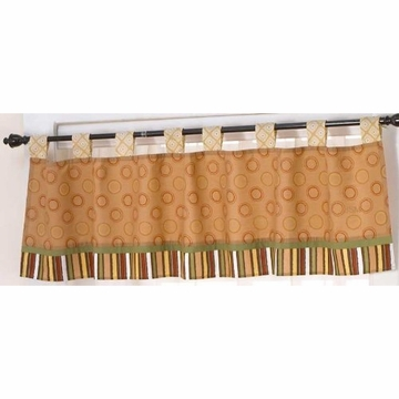 CoCaLo Nali Jungle Window Valance