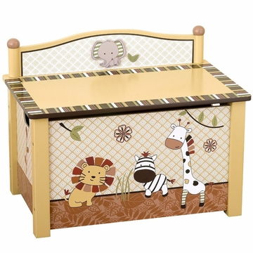 CoCaLo Nali Jungle Toy Box