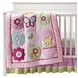 Disney Pooh Spring Friends 4pc Crib Bedding Set