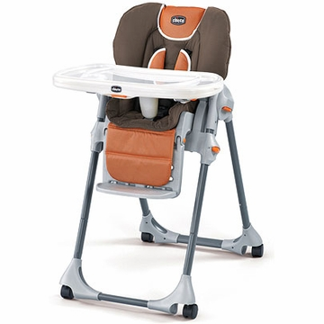 Chicco Polly Double-Pad High Chair - Luxor