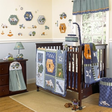 CoCaLo Play Zone 8-Piece Crib Set