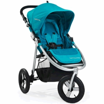 "Bumbleride Indie Stroller - 3 Wheel Design with 12"" Air Tires - Aqua"