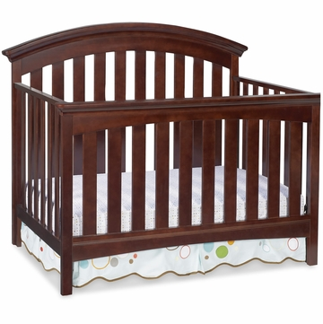 Delta Bentley 4-in-1 Crib - Chocolate