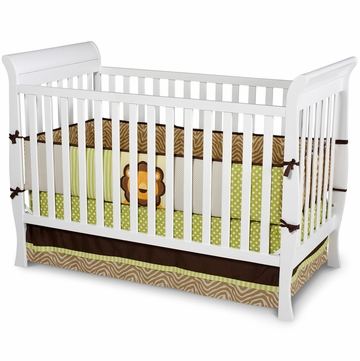 Delta Charleston / Glenwood 3-in-1 Crib - White