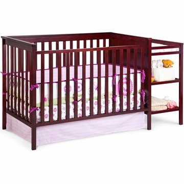 Delta Houston Classic Crib 'N' Changer - Black Cherry Espresso