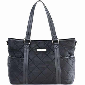 Perry Mackin Danah Diaper Bag in Black