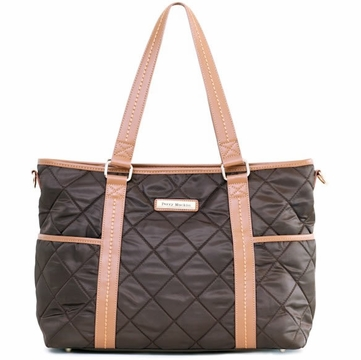 Perry Mackin Danah Diaper Bag in Brown