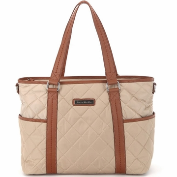 Perry Mackin Danah Diaper Bag in Cream