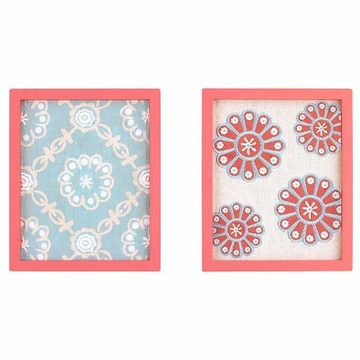 CoCaLo Dahlia 2-Piece Framed Wall Art
