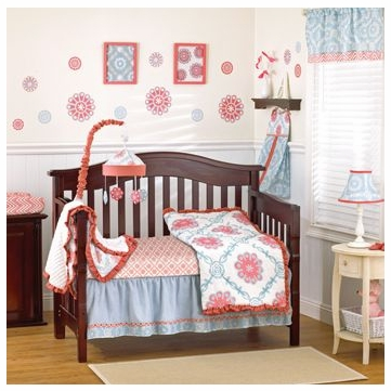 CoCaLo Dahlia 4-Piece Crib Set
