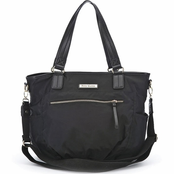Perry Mackin Rachel Diaper Bag in Black
