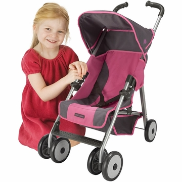 Maclaren Techno XT Doll Stroller - Coffee/Carmine Rose