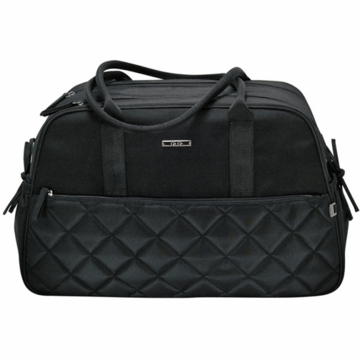 OiOi Black Quilted Carry All Diaper Bag