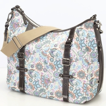 OiOi Indian Paisley Hobo Diaper Bag