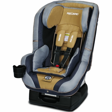 Recaro Performance RIDE Convertible Car Seat - Slate