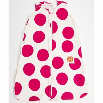 Gunamuna Gunapod Printed Dot Sleep Sack - Petunia - Small