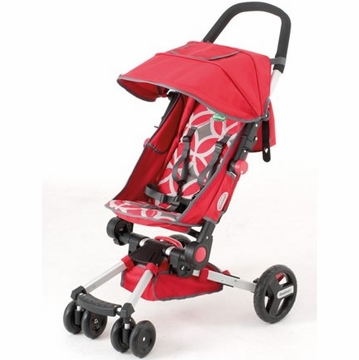 QuickSmart Easy Fold Stroller - Geometric Red
