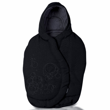 Maxi Cosi Mico Footmuff - Total Black