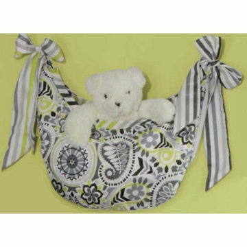 Bananafish Paisley Prism Toy Bag