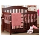 Bananafish Raspberry Truffle 3 Piece Crib Bedding Set