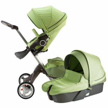 Stokke XPLORY Newborn Stroller in Light Green