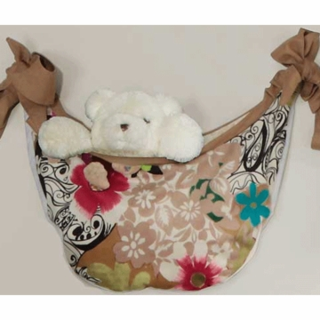 Bananafish Mod Pop Floral Toy Bag